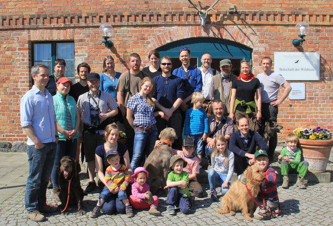 GWN-Mitglieder Klepelshagen 2017
