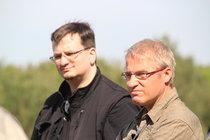 S. Ortmann und Dr. Schuster